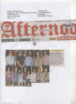 """R""""AFTERNOON DESPATCH AND COURIER""""  – 14-05-2010"""